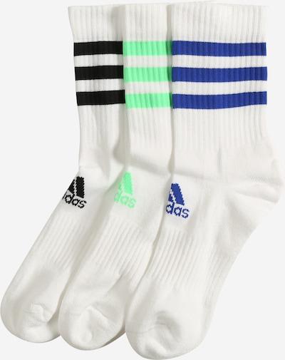 Șosete sport ADIDAS PERFORMANCE pe albastru / verde limetă / negru / alb, Vizualizare produs