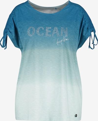 SAMOON T-Shirt in azur / himmelblau / hellblau, Produktansicht