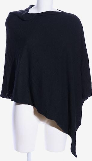 KONTATTO Poncho in XS-XL in schwarz, Produktansicht