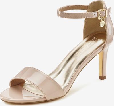 LASCANA Sandale in beige / gold, Produktansicht