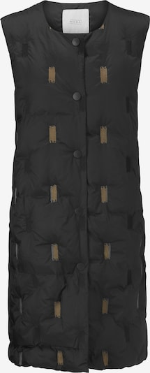Masai Daunenweste 'Trinus' in hellbraun / schwarz, Produktansicht