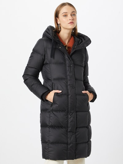 Marc O'Polo Winter Coat in Black, View model