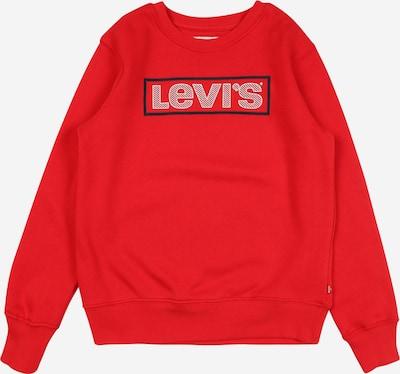 LEVI'S Sweatshirt in de kleur Donkerblauw / Knalrood / Wit, Productweergave