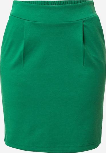 ICHI Rok 'KATE' in de kleur Grasgroen, Productweergave