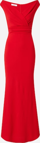 WAL G. Evening dress 'ANDREW' in Red