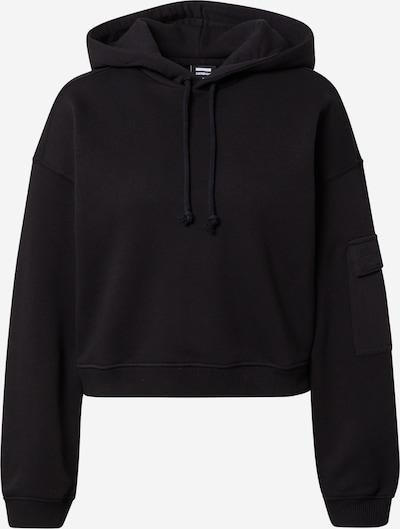 Dr. Denim Sweatshirt 'Penny' in schwarz / weiß, Produktansicht