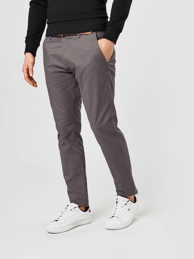ESPRIT Chinohose in karamell / grau / taupe / schwarz / weiß, Modelansicht