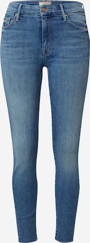 MOTHER Jeans 'FRAY' i blå