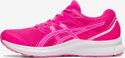 ASICS Chaussure de course en rose néon / blanc, Vue avec produit