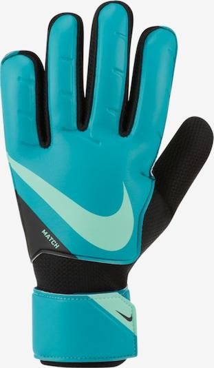 NIKE Handschuh in jade / pastellgrün / schwarz, Produktansicht
