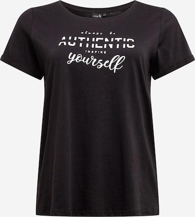Marškinėliai iš Active by Zizzi , spalva - juoda / balta, Prekių apžvalga
