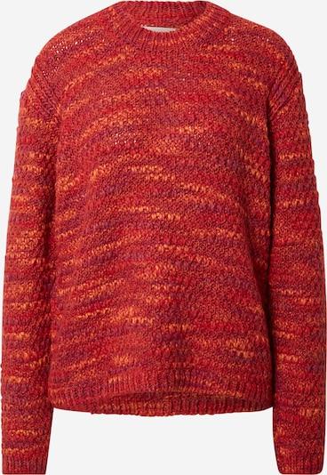 Folk Sweater in Purple / Orange / Dark red, Item view