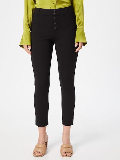 Pantaloni 'Brenda ' STEFFEN SCHRAUT pe negru, Vizualizare model