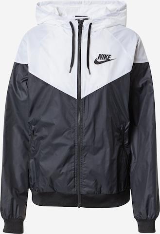 Nike Sportswear Φθινοπωρινό και ανοιξιάτικο μπουφάν σε μαύρο