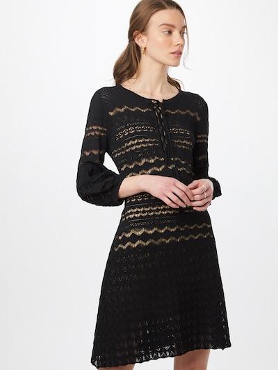 Twinset Kleid in schwarz, Modelansicht
