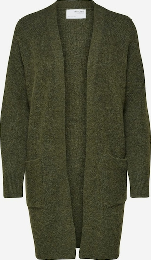 Selected Femme Petite Knit Cardigan in Green, Item view