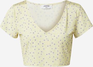 SHYX Μπλουζάκι 'Naja' σε κίτρινο