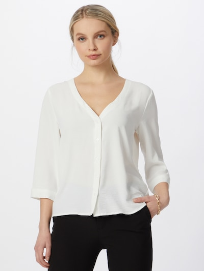 JACQUELINE de YONG Bluse in weiß, Modelansicht