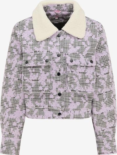 MYMO Jacke in grau / lila / weiß, Produktansicht