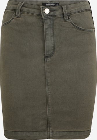 Missguided Tall Skirt in Green