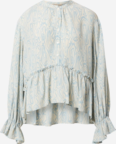 Stella Nova Blouse 'Rise' in light blue / white, Item view