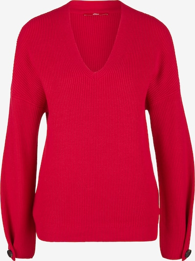 s.Oliver Pullover in rot, Produktansicht