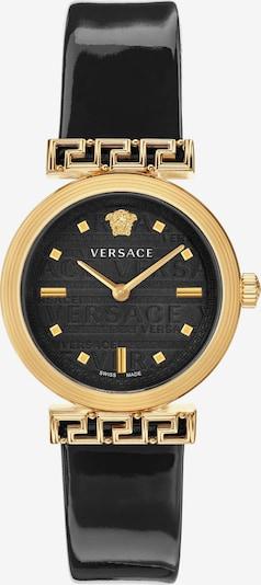 VERSACE Analog Watch 'Meander, VELW00420' in Gold / Black, Item view