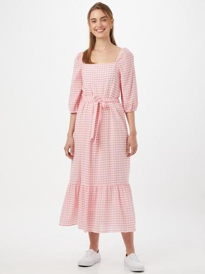 ONLY Haljina 'Lotus' u roza / svijetloroza / bijela, Prikaz modela