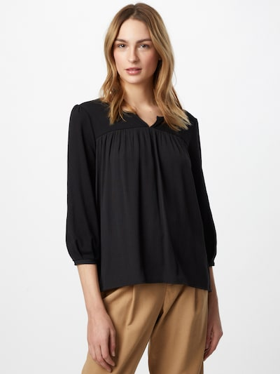 ESPRIT Blusa en negro, Vista del modelo