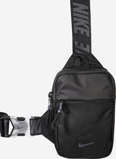 Nike Sportswear Torba preko ramena 'Advance' u tamo siva / crna, Pregled proizvoda