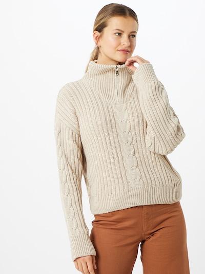 NU-IN Pullover in hellbeige, Modelansicht