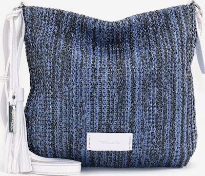 TAMARIS Чанта за през рамо 'Claudia' в нейви синьо / опушено синьо / бяло, Преглед на продукта