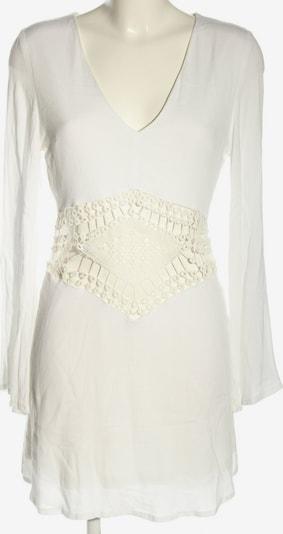 Missguided Langarmkleid in M in weiß, Produktansicht