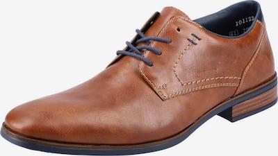 tengerészkék / rozsdabarna RIEKER Fűzős cipő, Termék nézet