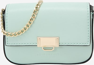 Seidenfelt Manufaktur Crossbody bag 'Lund' in Gold / Mint, Item view