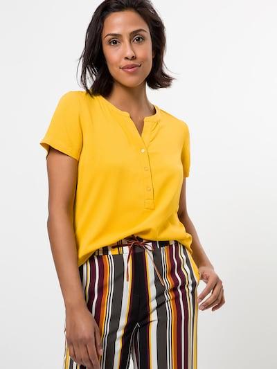 zero Bluse in gelb, Modelansicht