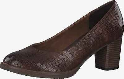 MARCO TOZZI Escarpins en brun foncé, Vue avec produit