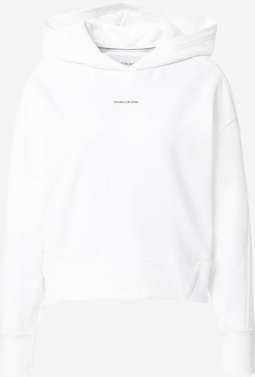 Calvin Klein Jeans Sweatshirt in White, Item view