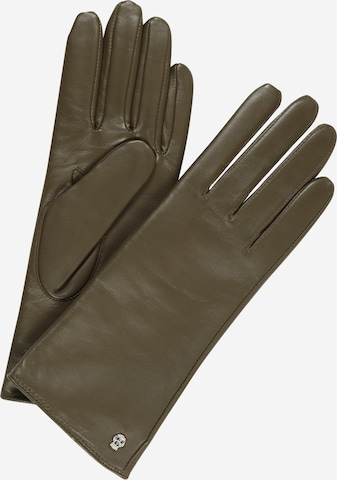 Roeckl Prstové rukavice 'Hamburg' - Želená