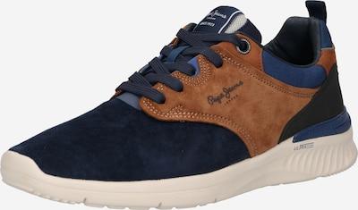 Pepe Jeans Sneaker 'JAY-PRO 21' in navy / dunkelblau / braun, Produktansicht