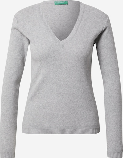 UNITED COLORS OF BENETTON Pullover in graumeliert, Produktansicht