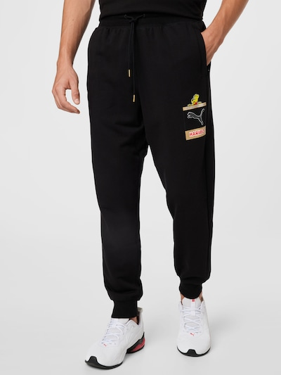 PUMA Jogginghose in mischfarben / schwarz, Modelansicht