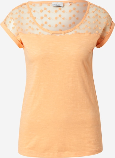 Sublevel T-Shirt in orange, Produktansicht