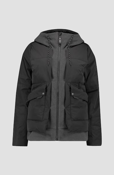szürke / fekete O'NEILL Kültéri kabátok 'Short Azurite', Termék nézet