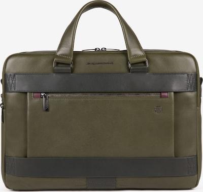 Piquadro Document Bag 'Obidos' in Brown / Dark green, Item view