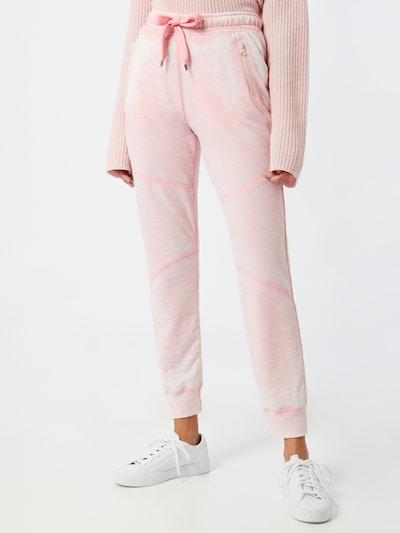 Frogbox Hose in rosa / weiß, Modelansicht