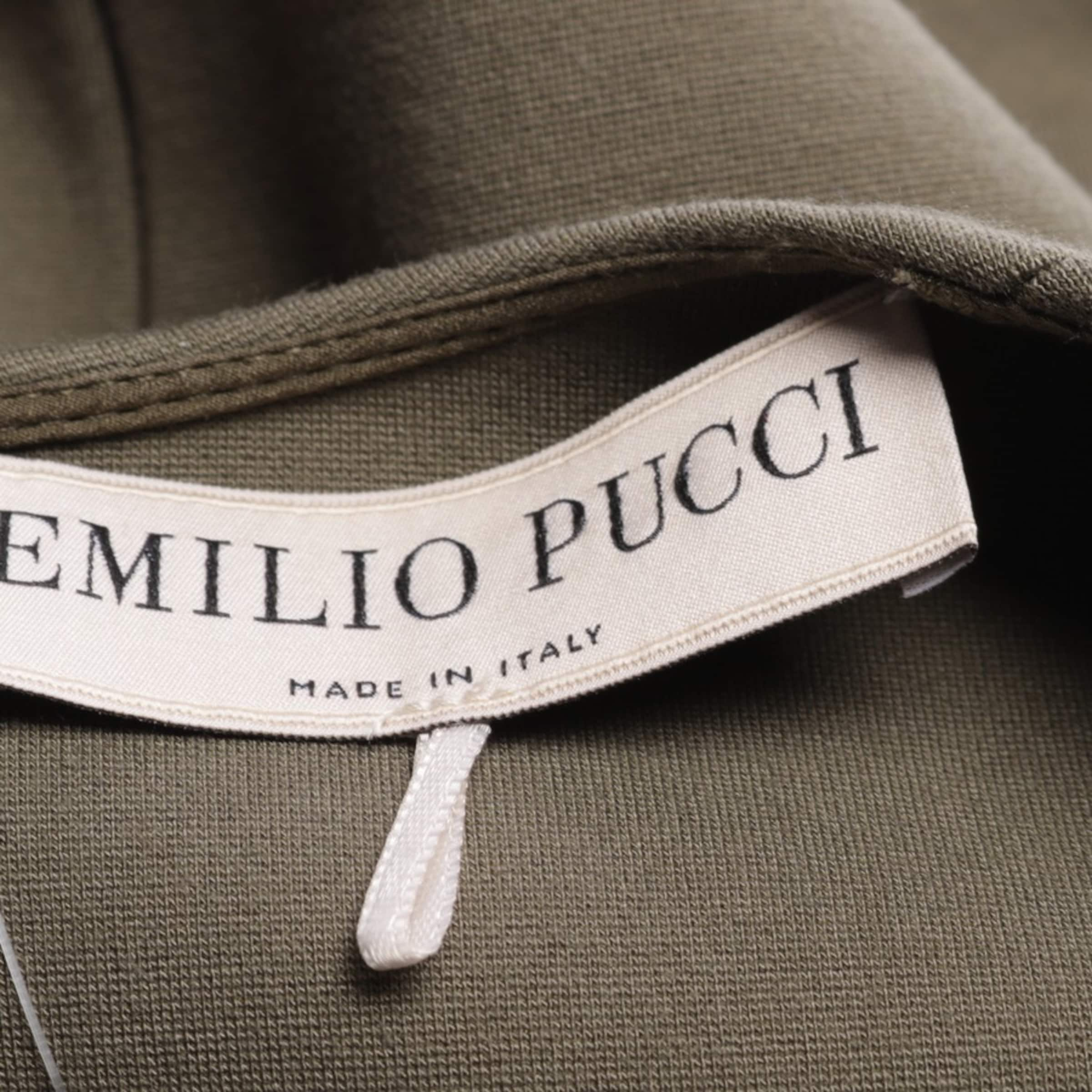 Emilio Pucci Kleid in 34 in oliv