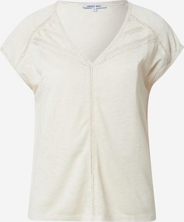 T-shirt 'Vivian' ABOUT YOU en blanc
