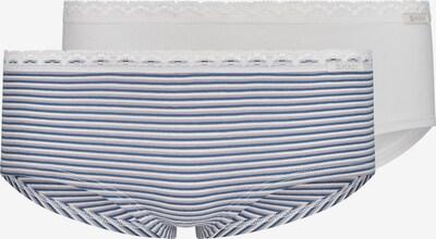 Skiny Unterhose in marine / grau / weiß, Produktansicht