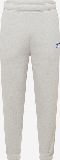DIESEL Pantalon 'CALTONY' en bleu / gris / rouge, Vue avec produit